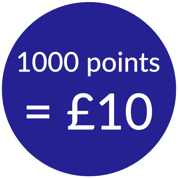 talk home exchange 1000 points for £10