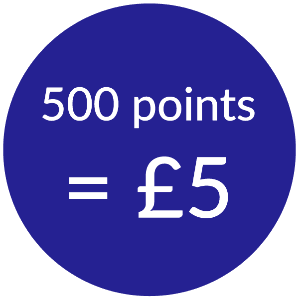 talk home exchange 500 points for £5